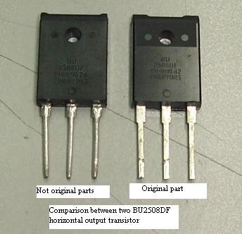 bu2508df transistor