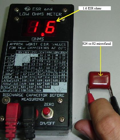 Using Dick Smith Esr Capacitor Tester Or Meter To Check