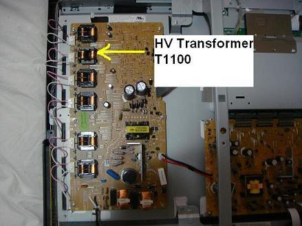 lcd tv high voltage transformer