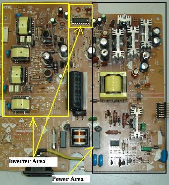 benq fp731 lcd monitor repair