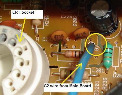 modify monitor screen voltage