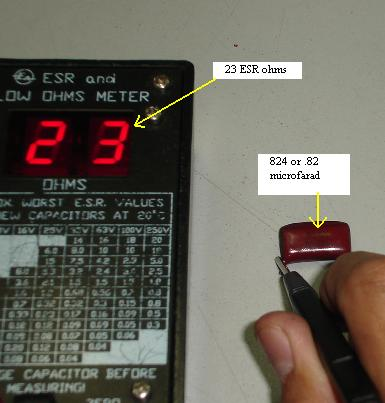 Dick Smith Esr Capacitor Tester Or Meter Can Help To Test