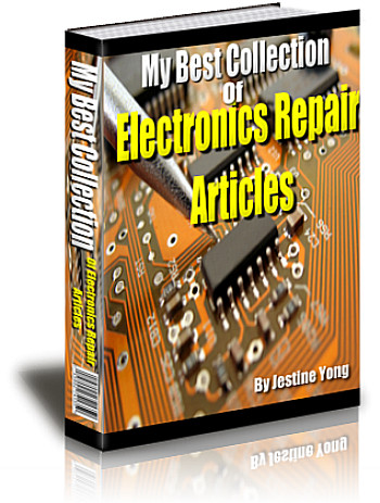 Electronic repair troubleshooting tips and secrets for