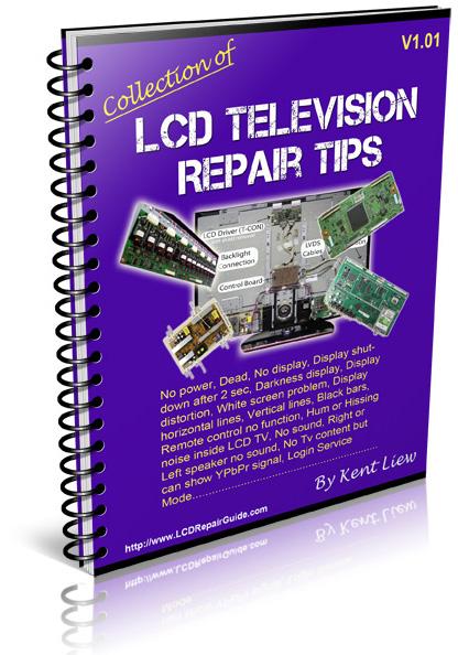 lcd tv repair basic rh electronicrepairguide com samsung lcd tv troubleshooting guide basic lcd tv and monitor troubleshooting guides