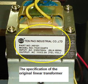 Transformer Specification