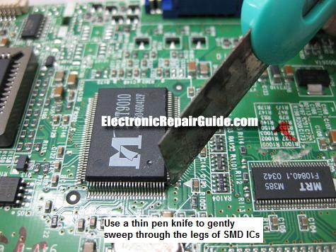 bad components rh electronicrepairguide com