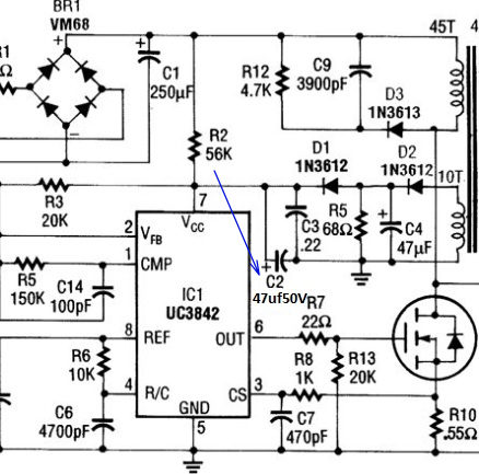 SimSheet 02 besides Lfitscrew1000picturepage5 moreover Voltage Drop Across Diode Bridge as well Delay On Circuit as well Series Resistor Capacitor Circuits. on how to check capacitor