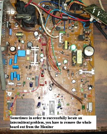 how to remove circuit board