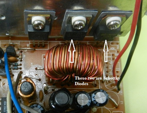 testing schottky diode