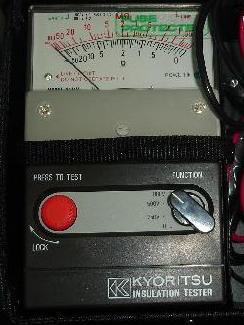 kyoritsu insulation tester
