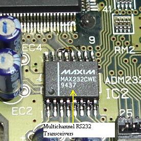 max232cwe ic