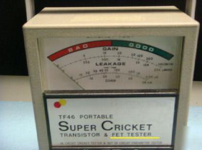 sencore cricket fet tester