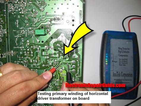 pruebas de transformadores conductor horizontal