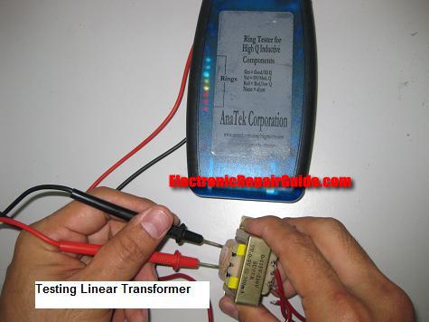 pruebas de transformadores lineales